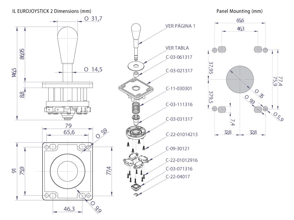 crown joystick wiring diagram wiring libraryeurostick joystick dimensional specifications